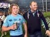 Hooper y Cheika - Waratahs v Crusaders - Super Rugby Final 2014 - Fotos: PR