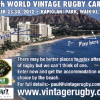World Vintage Rugby Carnival en Hawaii