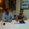 Nicolás Sánchez firmó con la UAR