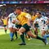 Australia demasiado para Uruguay