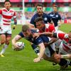 Escocia goleo a Japon