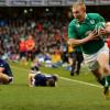 Irlanda cerro con un triunfo