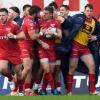Scarlets derroto a Toulon