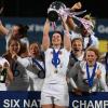 6N, Inglaterra campeón femenino