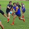 Pampas XV entrenó en Sydney