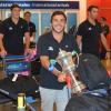 Pampas XV regresó al país
