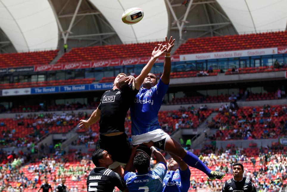 NZ v Samoa - World Sevens Series - Port Elizabeth - Foto: WR