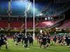 Los Pumas en el entrenamiento de hoy en el Millennium Stadium - Cardiff