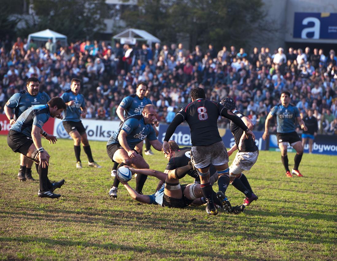 Uruguay 28-3 Hong Kong - Ago 2, 2014 - Repechaje RWC 2015 - Foto: Hugo Yacques/MoHicanos.com