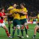 Australia derrotó a Gales