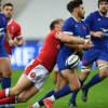 Francia derrotó a Gales