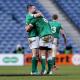 Irlanda lo ganó sobre el final