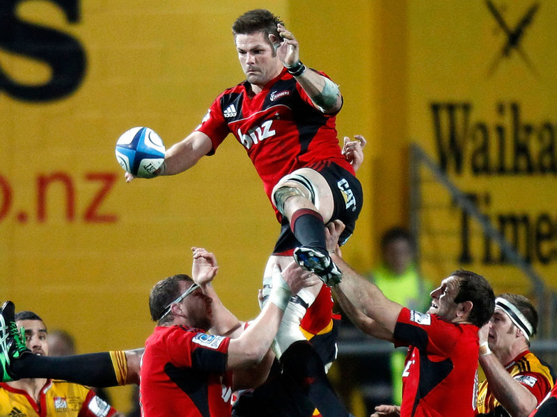 Richie McCaw - Crusaders vs Chiefs - Foto: Planet Rugby