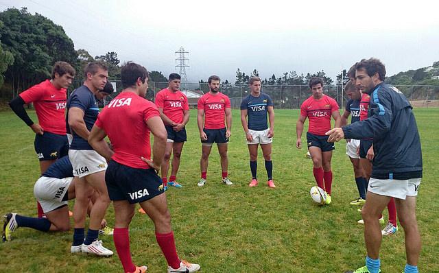 Pumas 7s en Wellington - Foto: UAR