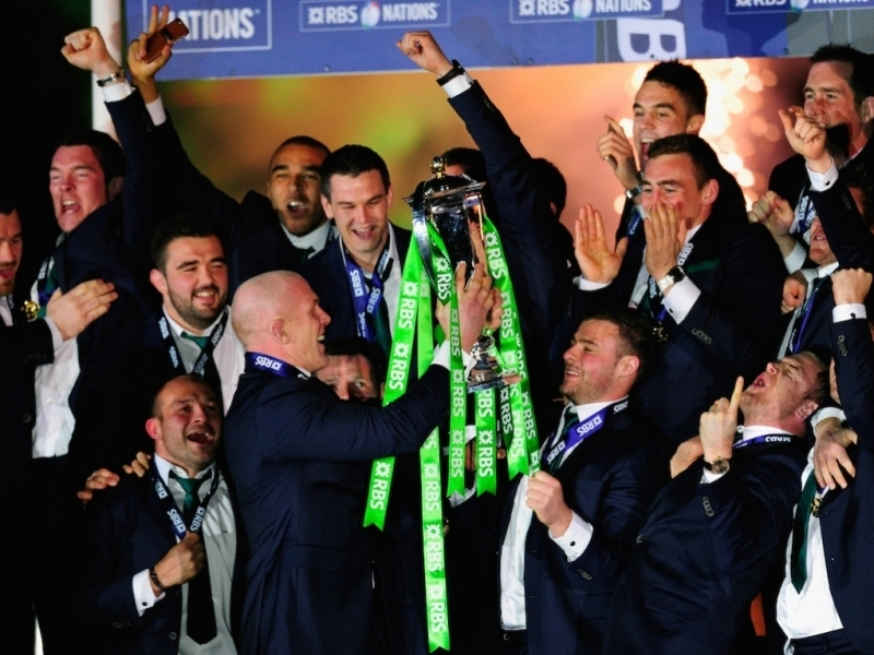 Irlanda Campeon del Seis Naciones 2015 - Foto: Planet Rugby