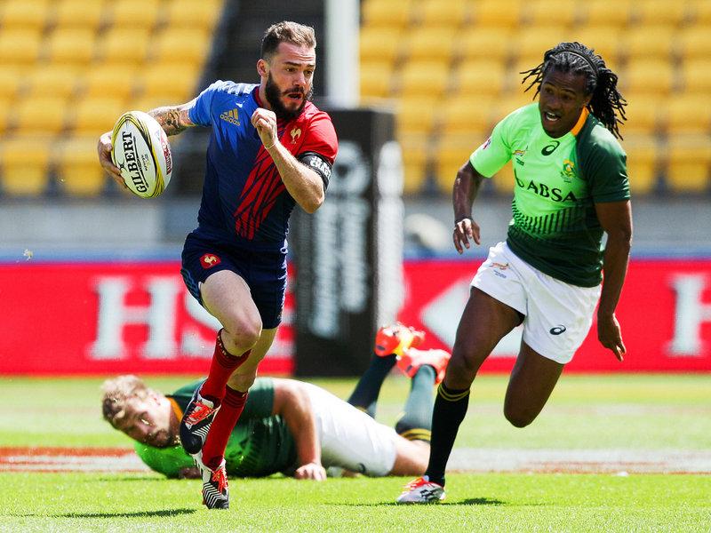 Francia dio la nota y derroto a Sudafrica en Wellington 7s - Foto: Planet Rugby