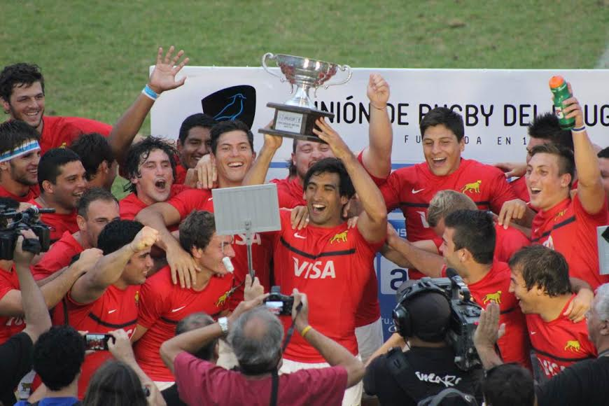 Argentina XV campeon de la URU Cup 2015 - Foto: URU