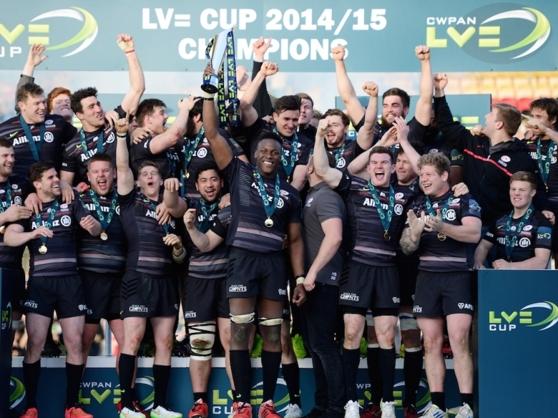 Saracens Campeon LV=Cup - Foto: Planet Rugby