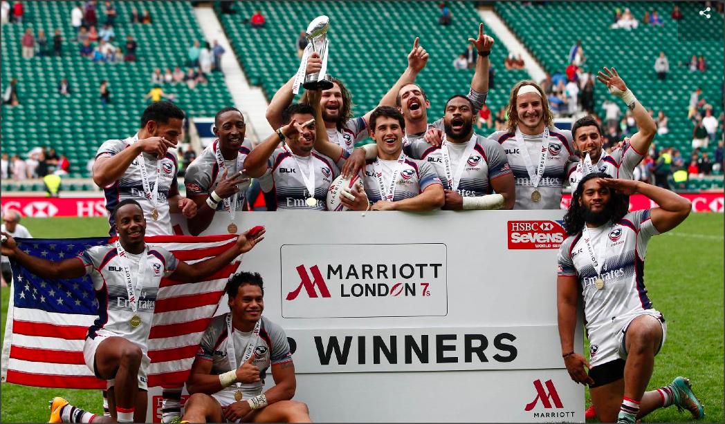 USA Ganador del Seven de Londres 2015 - Foto: Martin Seras Lima