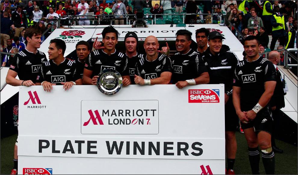 Nueva Zelanda - Ganadores Plate - Foto: Martin Seras Lima