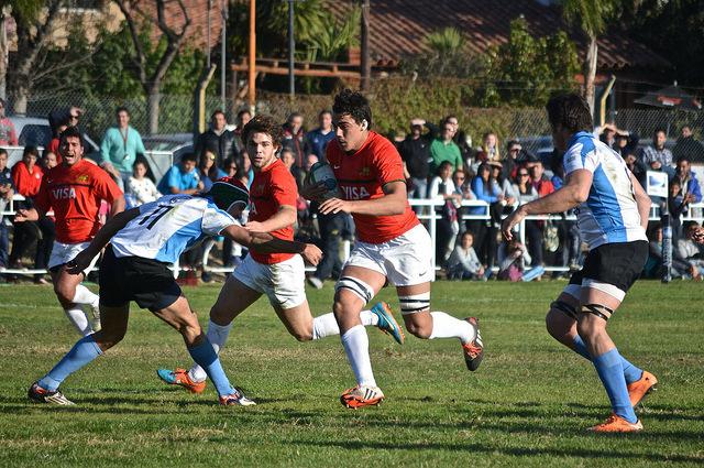 Argentina 62-12 Uruguay  - Torneo de las Naciones M18 2015 - Foto: UAR