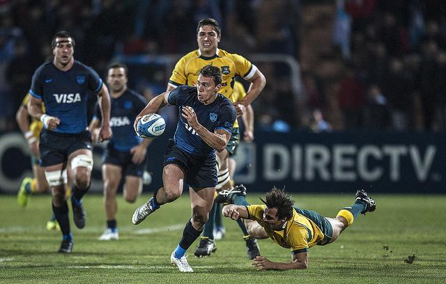 Juan Imhoff - Argentina v Australia - RC 2015 - F2 - Mendoza - Foto: UAR
