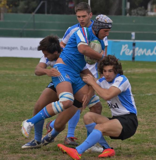 Uruguay cayo ajustadamente ante Italia - Torneo de las Naciones M18 2015 - Foto: UCR