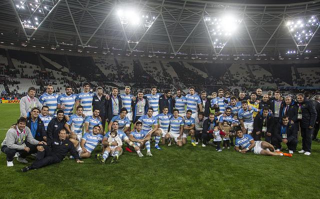 Argentina finalizo en el cuarto lugar en la RWC 2015 - Foto: UAR