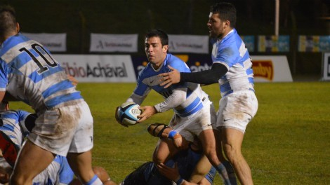 Argentina XV derroto a Uruguay el sabado pasado en la Sudamerica Rugby Cup - Foto: UAR