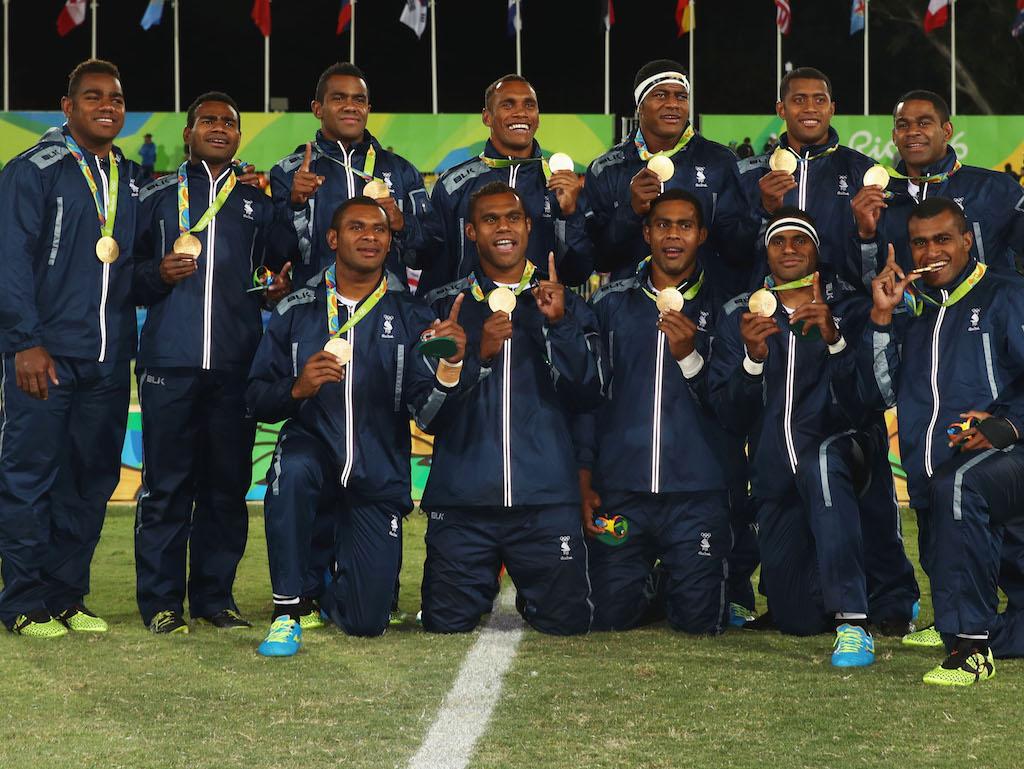 Fiji, Medalla de Oro en los Juegos Olimpicos en Rio 2016 - Foto: Mark Kolbe/Getty Images