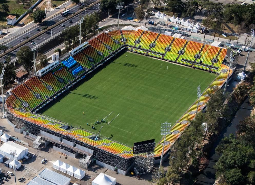 Estadio de Deodoro, sede del Rugby para los JJOO de Rio.