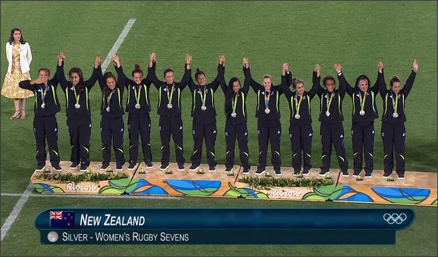 Nueva Zelanda ganador de la medalla de Plata en Rio